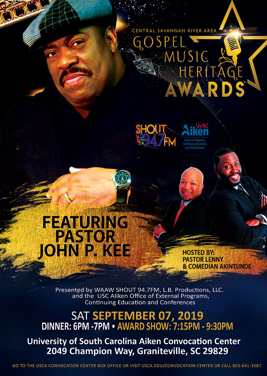 The CSRA Gospel Music Heritage Awards | Shout 94 7 Radio